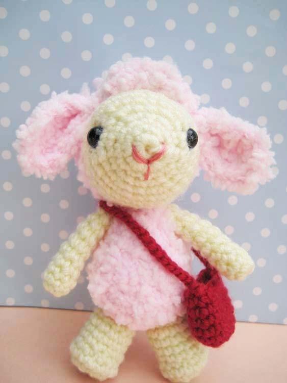 Amigurumi Lamb Patterns : Pdf Pinky Lamb Amigurumi Crochet Pattern-luulla on Luulla